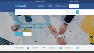 Garage Conversions New Website